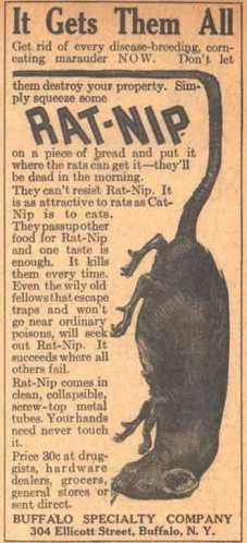 Foto 2. Anuncio de una revista norteamericana de 1923.