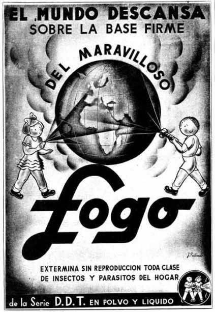 Foto 3. Anuncio de 1947 publicado en el periódico La Vanguardia.