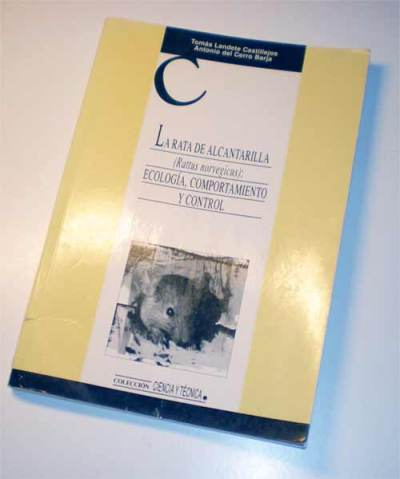 Portada del libro 'La rata de alcantarilla' de Tomás Landete y Antonio del Cerro./ Desinsectador 05-05-2013