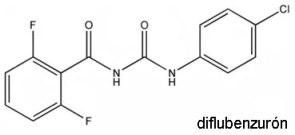 diflubenzuron-formula
