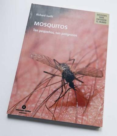 Foto 1. Portada del libro 'Mosquitos: tan pequeños, tan peligrosos' de Richard Swift, publicado en 2007./ Desinsectador 23-06-2013