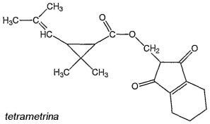 tetrametrina-formula