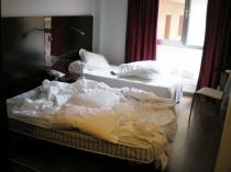 Foto 1. Una habitación de un hotel en Barcelona ciudad./ Desinsectador 07-2013