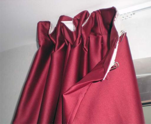 Foto 8. La cortina es un elemento de riesgo y hay que inspeccionarla./ Desinsectador 07-2013
