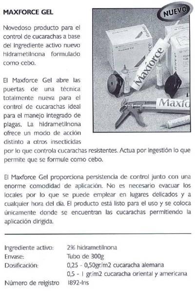 Foto 2. Catálogo de productos de Kill Germ de 1997.
