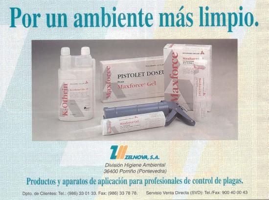 Foto 1. Anuncio publicitario aparecido en la revista Parasitis en el número 11 de 1995.