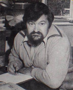 Foto 2. Imagen de Michael Chinery que aparece en la contraportada del libro.