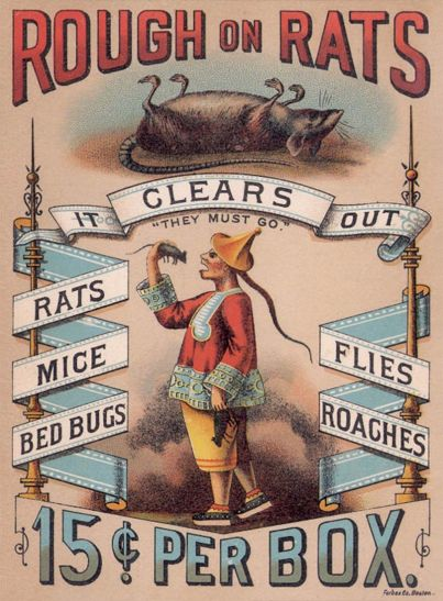 Foto 4. Anuncio publicitario de Rough on Rats.