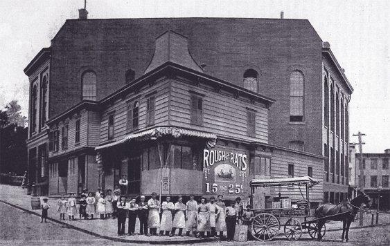 Foto 3. Imagen de la fábrica de E. S. Wells en Jersey City.