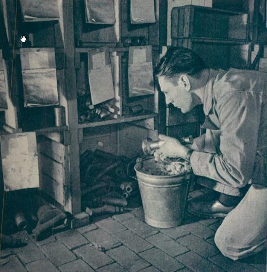 Foto 2. Imagen de Jean O., nieto del fundador en una imagen de 1952.