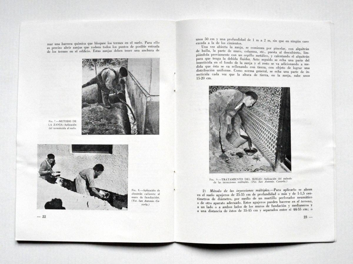 'Los termes en España', por José Benito Martínez (1958)