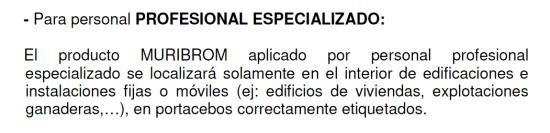 Fig 2. Resolución de Muribrom de 2014.